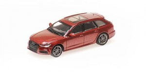 Audi A6 Avant 2018 (red metallic)