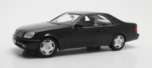 Mercedes-Benz 600SEC C140 1992 (black)