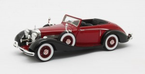 Mercedes-Benz 540K Roadster Lancefield #169317 Open 1938 (red)