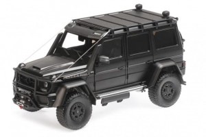 Brabus 550 Adventure Mercedes-Benz G500 4x4 (matt black)