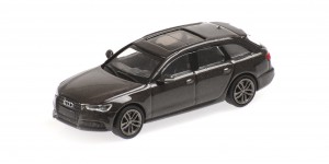 Audi A6 Avant 2018 (brown metallic)